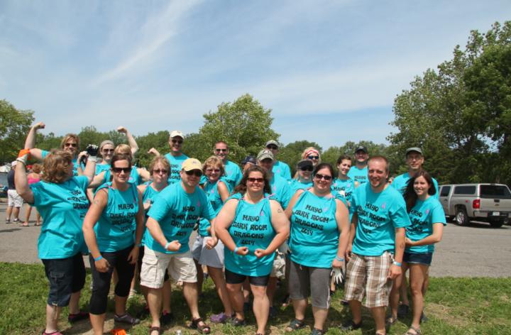 Dragon Boat Racers!! T-Shirt Photo