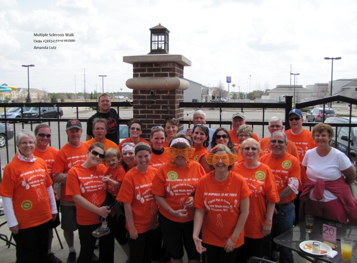 Multiple Sclerosis Walk T-Shirt Photo