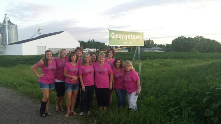 Cluckers Take Over Georgetown, Mn! T-Shirt Photo