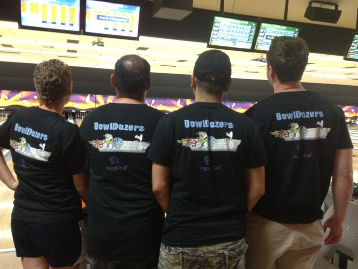 The Bowl Dozers T-Shirt Photo