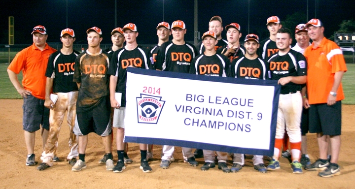 Dtq Big League District Champs T-Shirt Photo