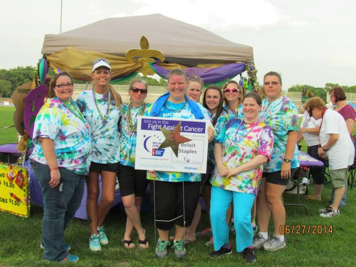 2014 Relay For Life Team T-Shirt Photo
