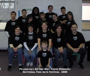 Pelham Bay Assembly Of God One Way Youth Ministry 2008 T-Shirt Photo