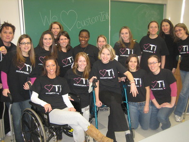 Philadelphia University Occupational Therapy Grad. Students T-Shirt Photo