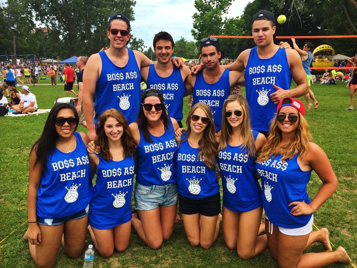 Bo$$ A$$ Beach @ Ottawa's Hope Volleyball Summerfest! T-Shirt Photo