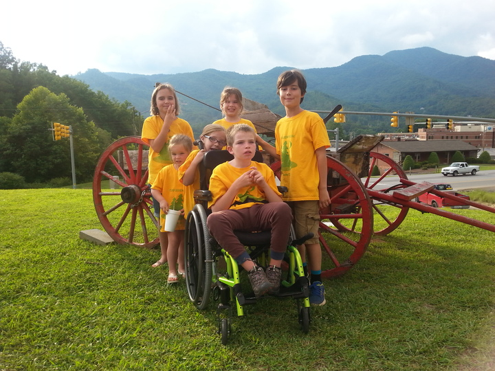 Camp Grandmom In Cullowhee Nc T-Shirt Photo