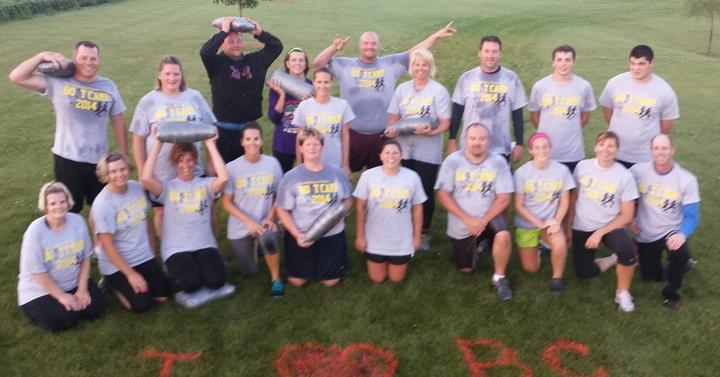 Peaseful Yoga & Fitness Boot Camp T-Shirt Photo