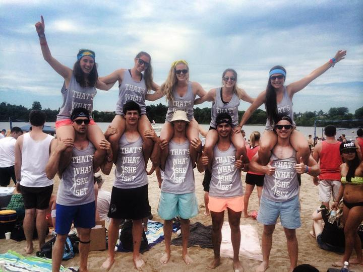 H.O.P.E Beach Volleyball Team! T-Shirt Photo