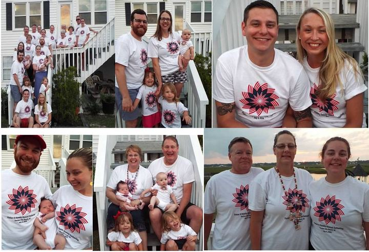 Fisher & Family   July 4th 2014 T-Shirt Photo