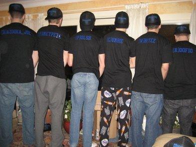 Team.Dn D Roster Pic T-Shirt Photo