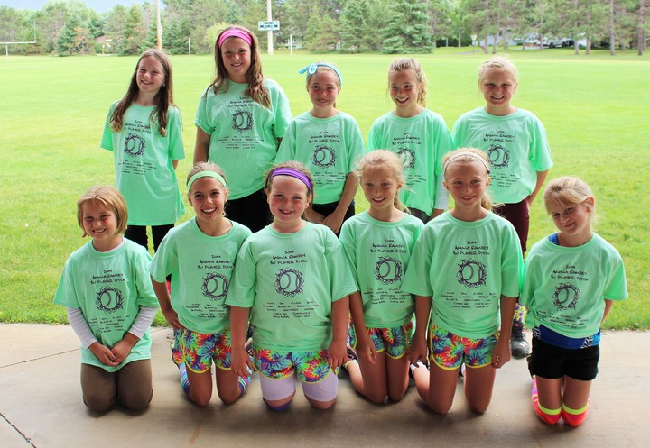 8 U Fastpitch Team T-Shirt Photo