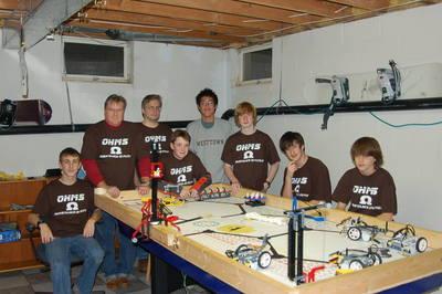 Robotics Team T-Shirt Photo