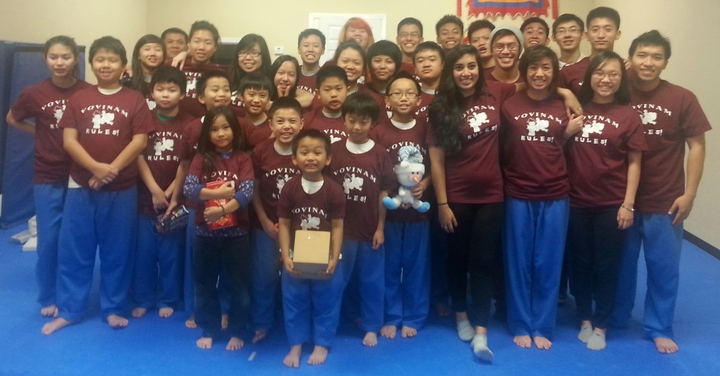 Vovinam Martial Arts Thang Long Houston   Tx T-Shirt Photo