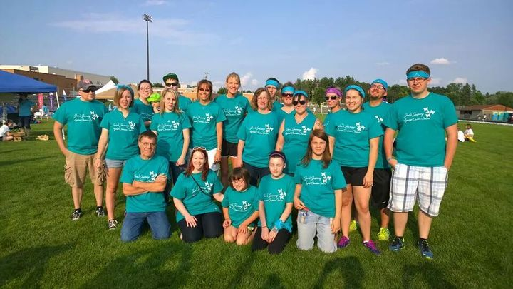 Jan's Journey Relay For Life Team T-Shirt Photo