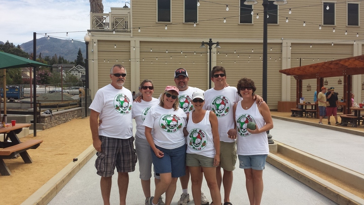 Grateful Balls Bocce Team T-Shirt Photo