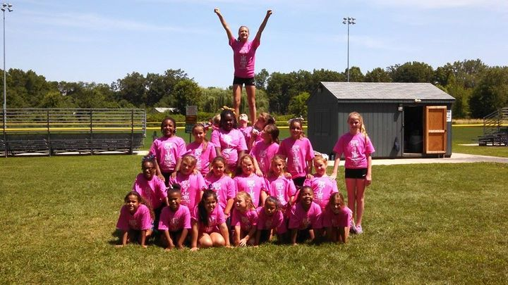 Cheer Camp 2014 T-Shirt Photo