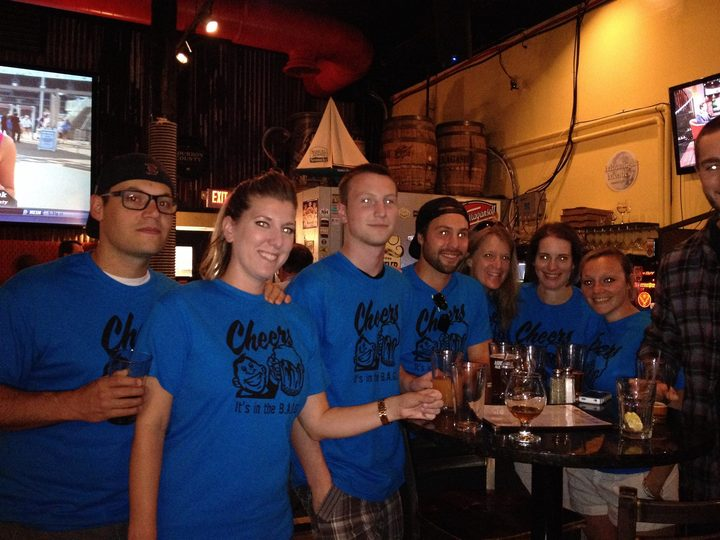 Cheers! T-Shirt Photo
