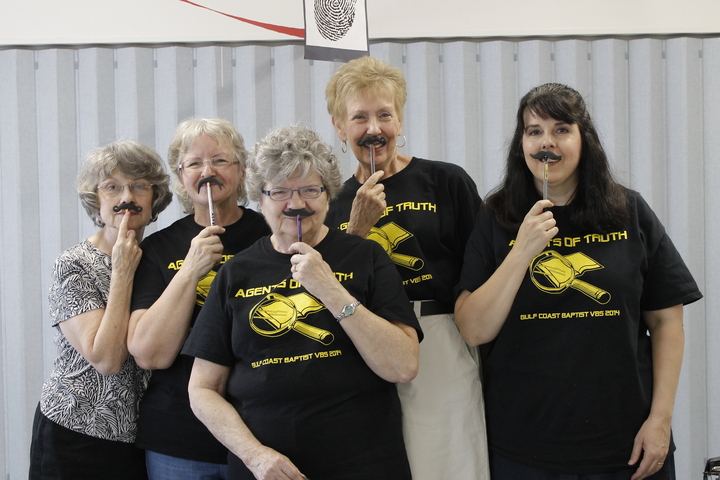 "Vbs Reg Ladies If You ""Mustache!"" T-Shirt Photo"