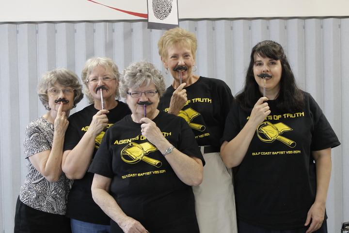 "Vbs Reg Ladies If You ""Mustache!"" T-Shirt Photo"