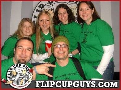 Flip Cup Team: We Have Mono T-Shirt Photo