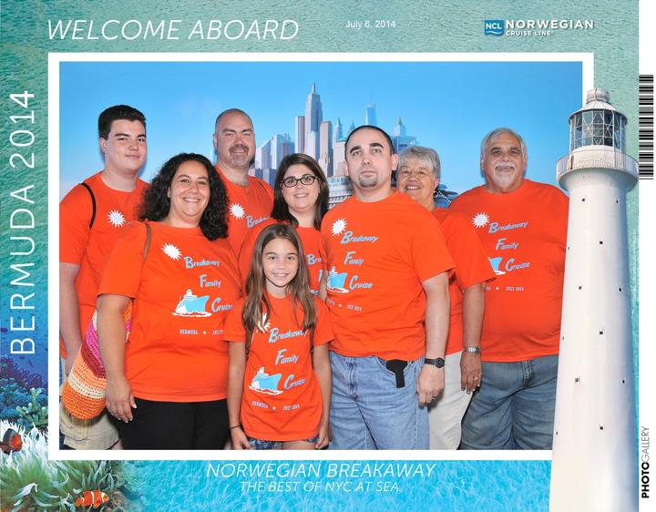 Breakaway Family Cruise T-Shirt Photo