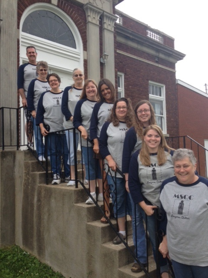 Long Arm Quilters  T-Shirt Photo