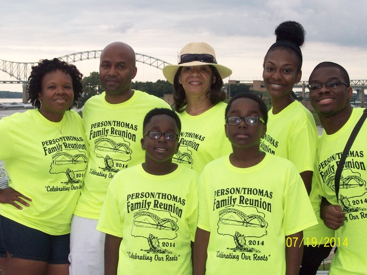 Person/Thomas Family Reunion 2014 T-Shirt Photo