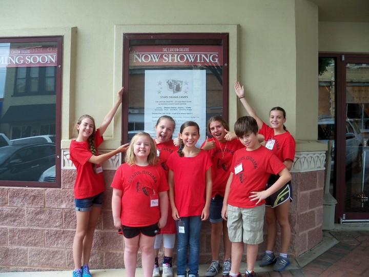 Summer Fun At Canton Theatre  T-Shirt Photo