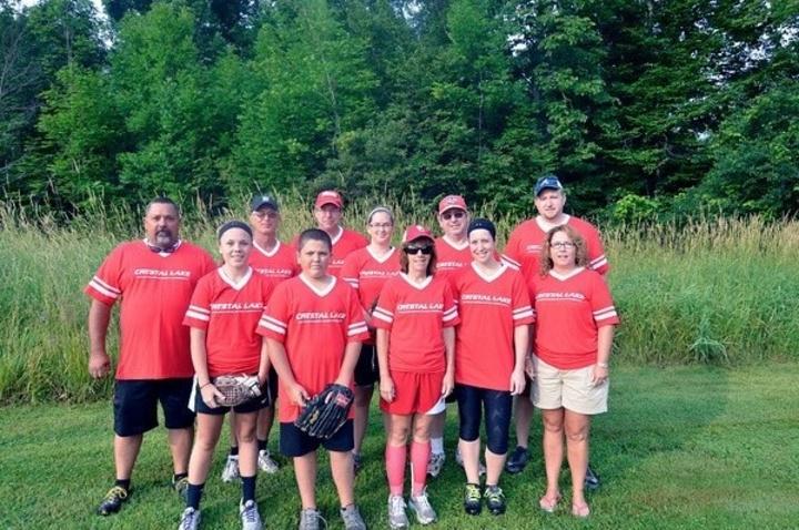 Crystal Lake Softball Team T-Shirt Photo