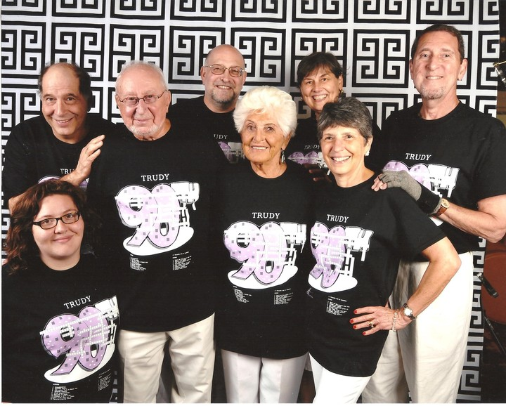 Trudy's 90th Birthday Cruise T-Shirt Photo