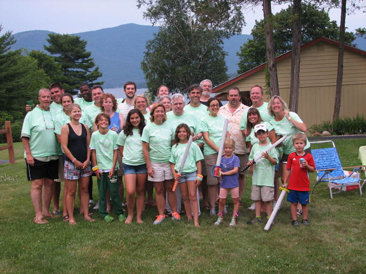 Lake George Reunion T-Shirt Photo