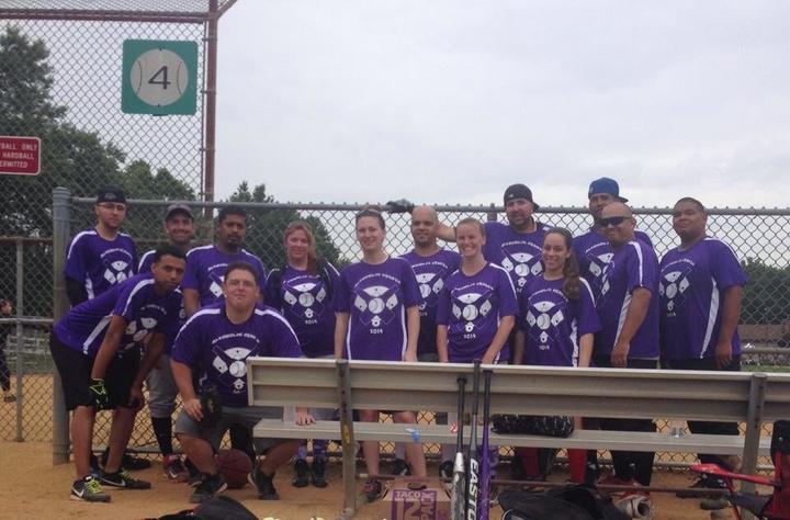 Pancreatic Cancer Softball Tournament T-Shirt Photo