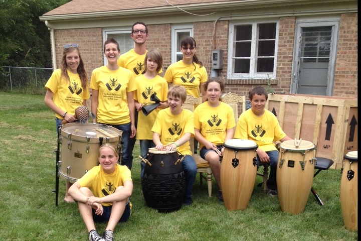 Double Resonance Percussion Ensemble Camp T-Shirt Photo