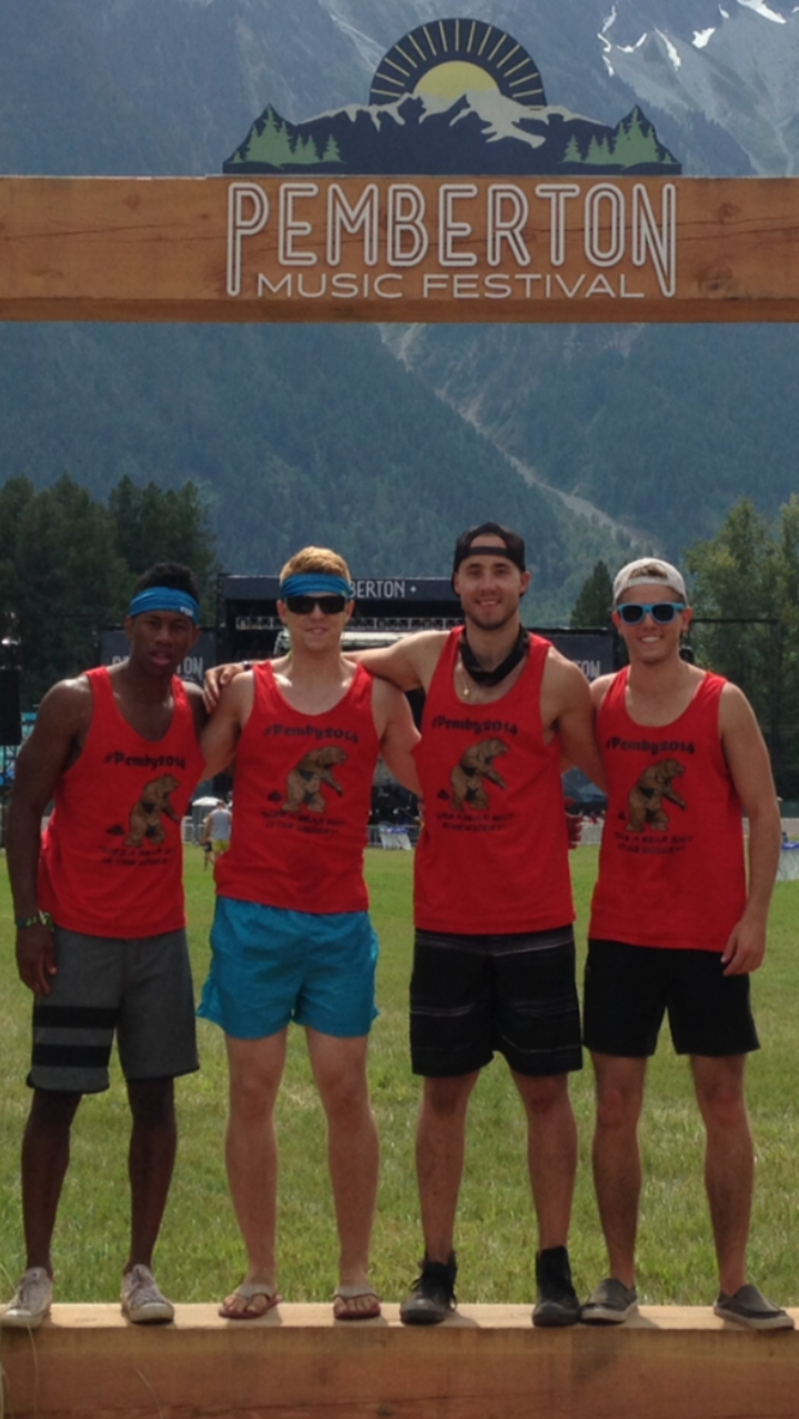 Pemberton Music Festival 2014 T-Shirt Photo