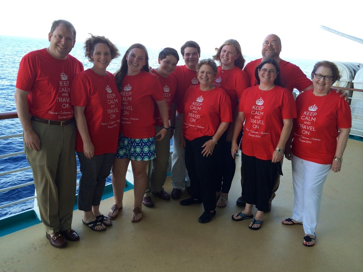 Sailing On The Seas In Our Sweet Shirts T-Shirt Photo