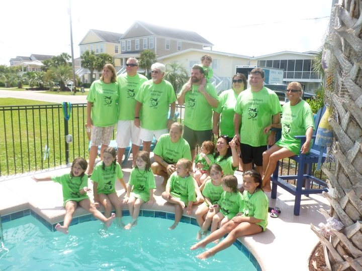 Katie's Pool Party T-Shirt Photo