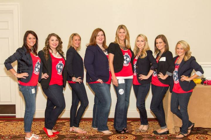 Nts Gals At The Gnaa Trade Show 2014 T-Shirt Photo
