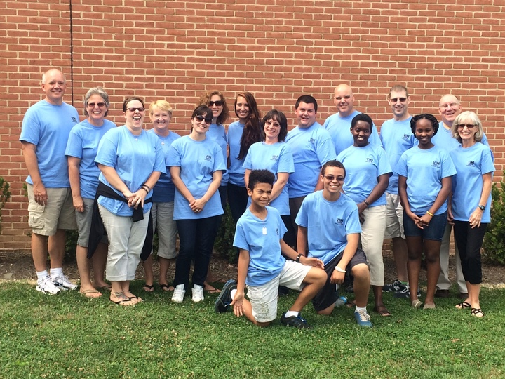 Volunteers In Mission Team, Grace Umc T-Shirt Photo