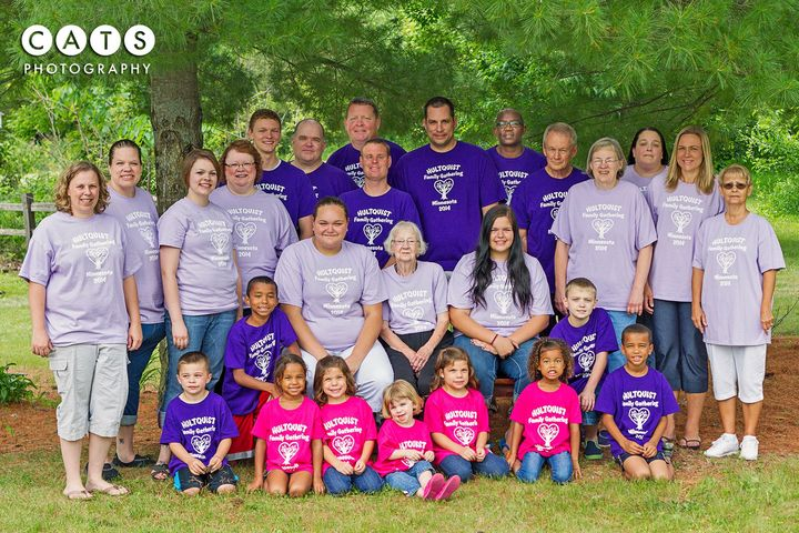 Hultquist Family Gathering T-Shirt Photo