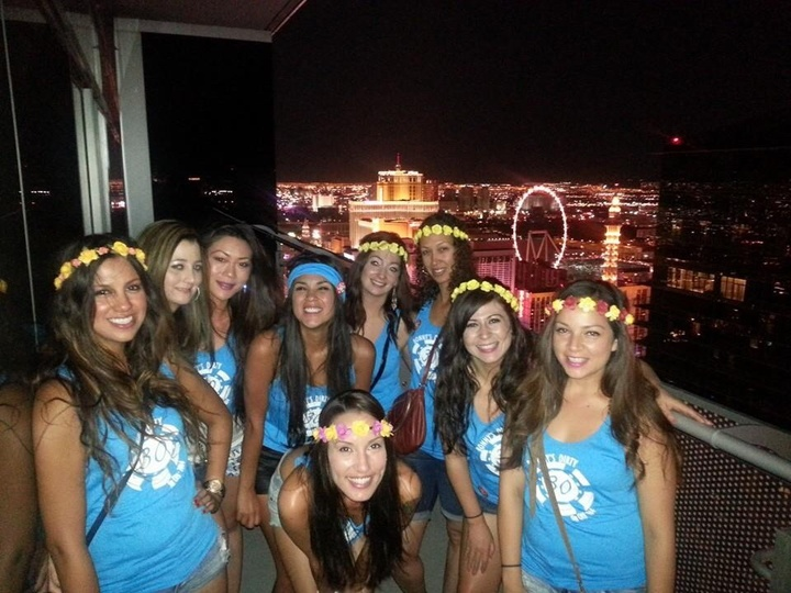 Bonny's Dirty 30 In Sin City T-Shirt Photo
