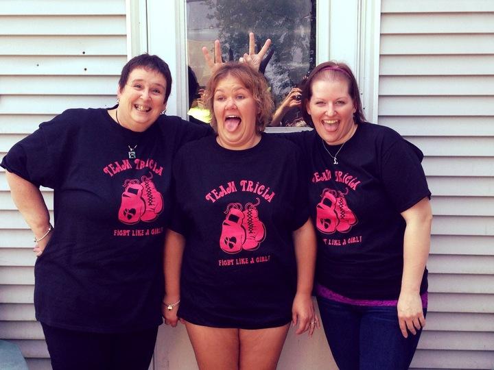 Team Tricia! T-Shirt Photo