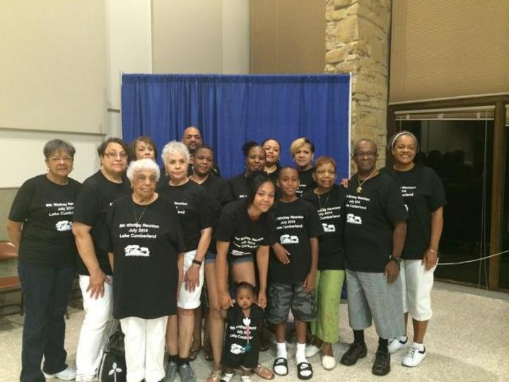 8th Winfrey Family Reunion At Lake Cumberland In Kentucky T-Shirt Photo