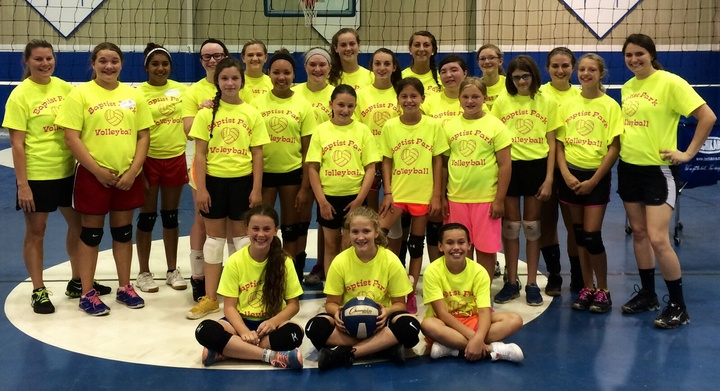 Bp Volleyball Camp! T-Shirt Photo