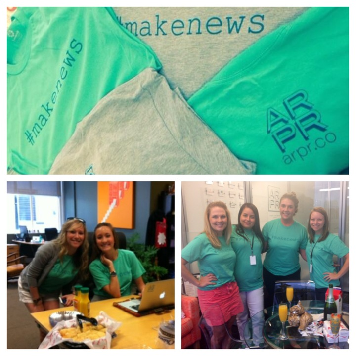 #Make News Scavenger Hunt T-Shirt Photo