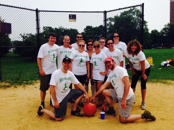 Big Kids Kickball Tournament T-Shirt Photo