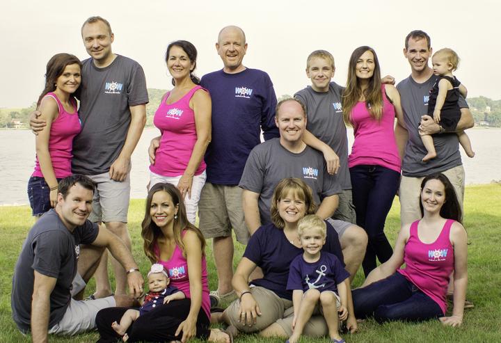 Wow Family Reunion T-Shirt Photo