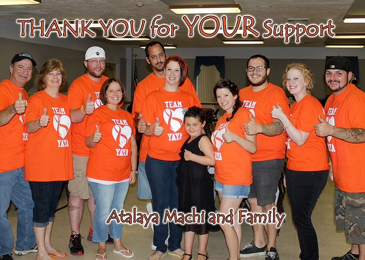 Thank You From Team Ya Ya T-Shirt Photo