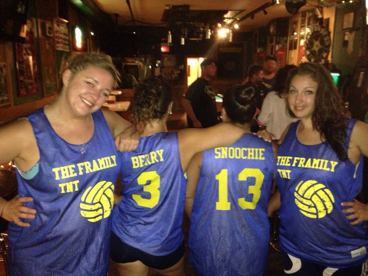 Framily Volleyball T-Shirt Photo