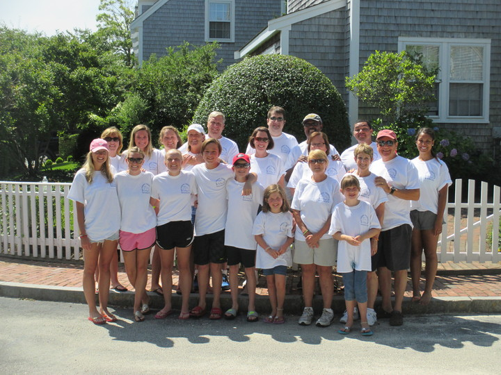 Family Vacation In Nantucket T-Shirt Photo