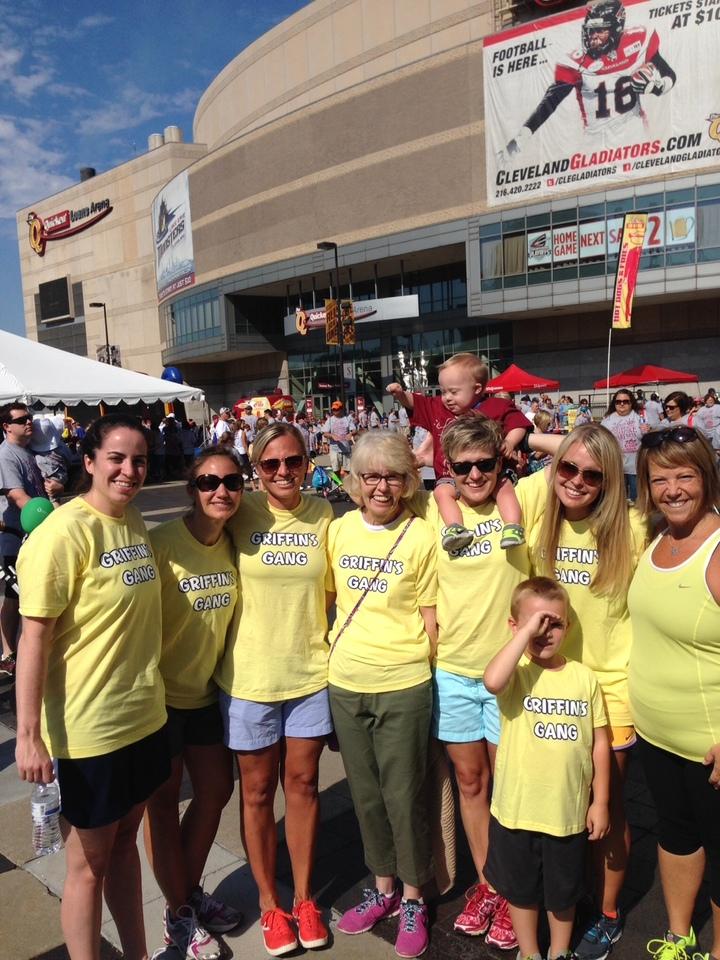 Northeast Ohio Buddy Walk 2014 T-Shirt Photo